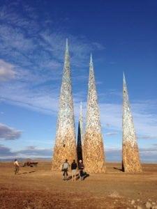 Africa Burn towers