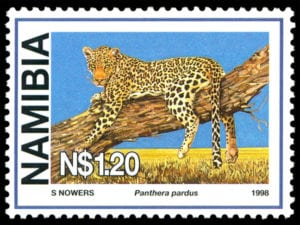 stamp leopard sheila nowers 1998 web
