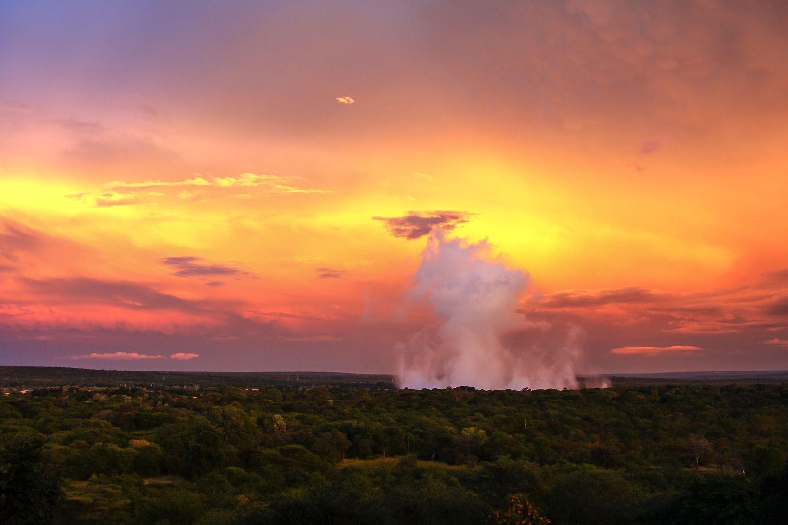 Meet in Victoria Falls, Zimbabwe