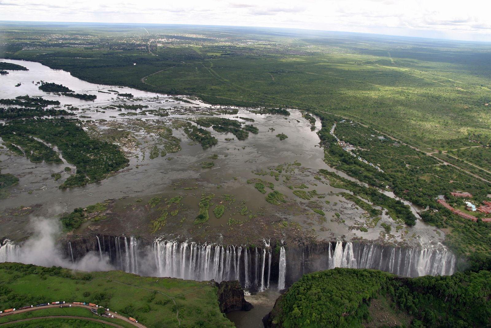 No riding. Accommodation in Victoria Falls, Zimbabwe.