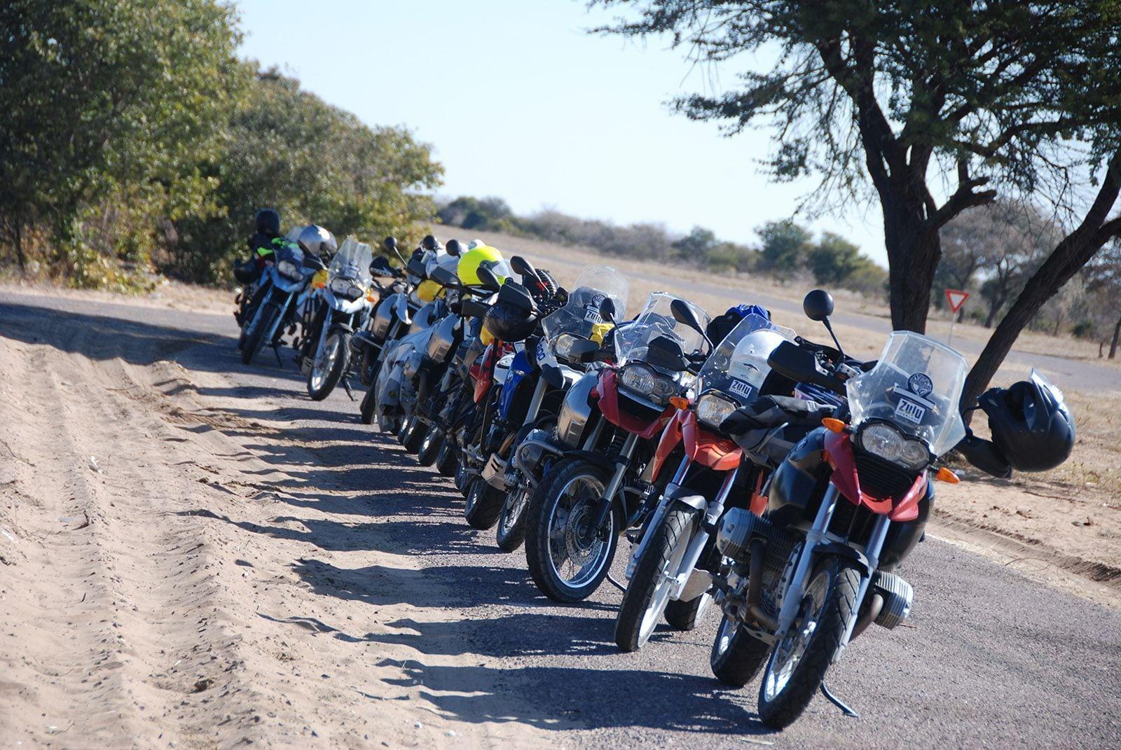 230 kms tarmac. Accommodation near Ghanzi.