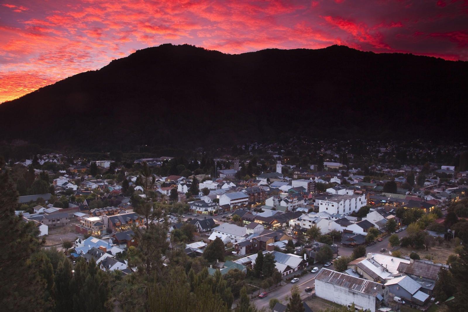 San Martin De Los Andes, Argentina. 215 kms