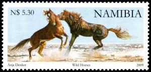 stamp wild horses - anja denker 2009 web