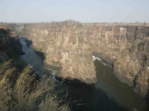 Canyon at Victoria Falls s